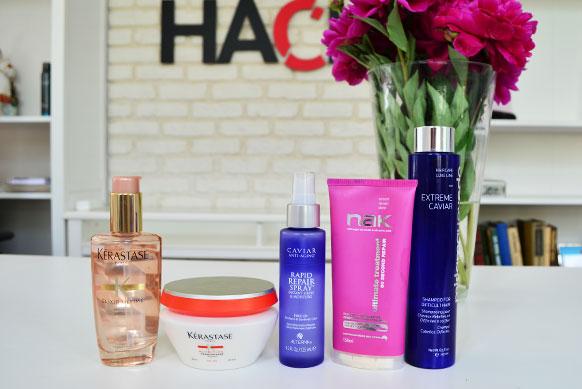 Шампунь для восстановления осветленных волос