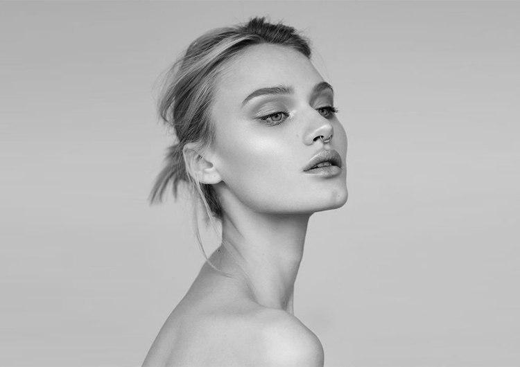 макияж для черно-белой фотосессии