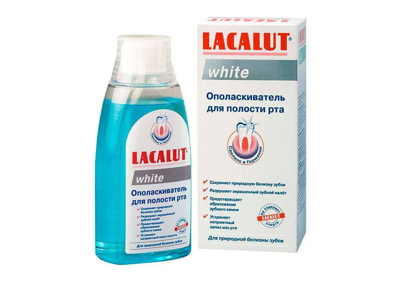 Ополаскиватель для полости рта White, Lacalut