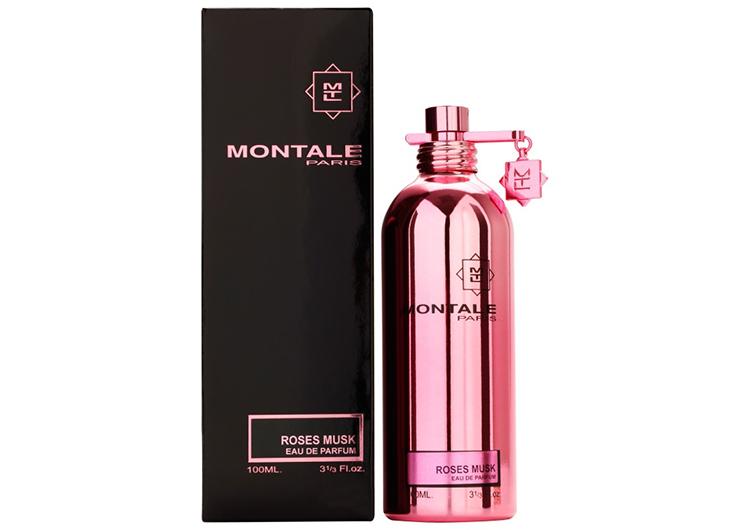 Montale Roses Musk Тестер 100ml edp старый дизайн (розовый)