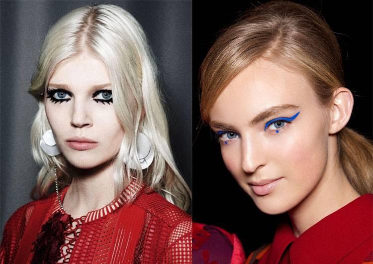 Ведущие визажисты модных показов рассказали о главных трендах весеннего макияжа новые фото