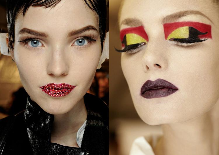 Ведущие визажисты модных показов рассказали о главных трендах весеннего макияжа картинки