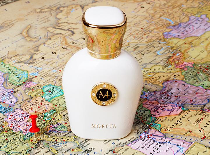Древесно-цветочный аромат Moreta, 50 мл, 19 800 руб., Moresque