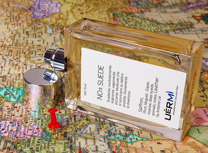 Кожаный аромат NO ± Suede, 75 мл, 12 000 руб., Uermi