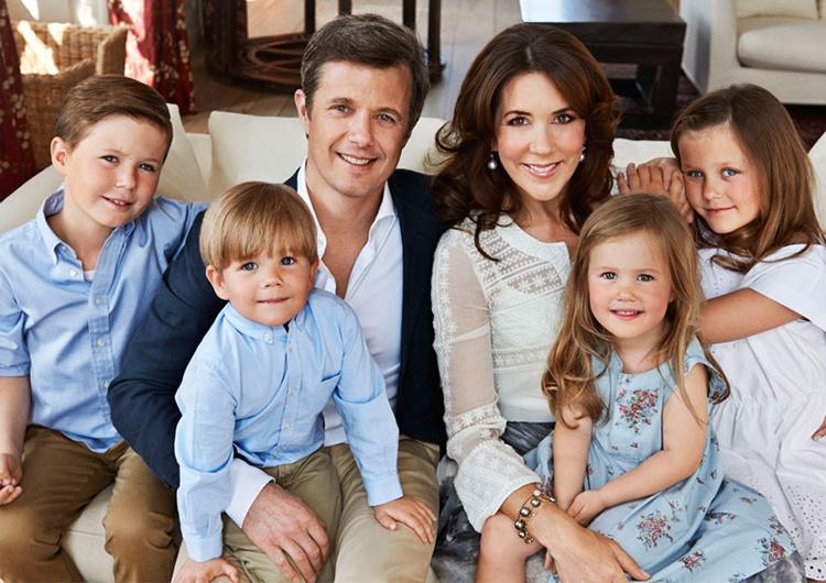 многодетных королевских семей